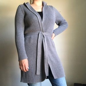 Old Navy Ribbed Long Open Sweater